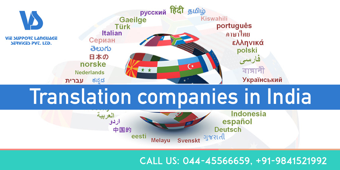 Translation companies in India
